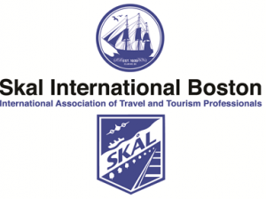 Darker Blue International & Boston Logo