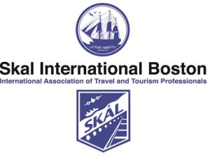 Darker Blue International & Boston Logo
